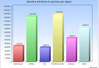 Plus de 4,8 millions d'enfants à vacciner contre la poliomyélite au Cameroun