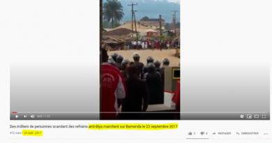 Non, cette vidéo n'a pas été tournée dans le cadre des marches pacifiques du 22 septembre 2020